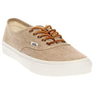 Canvas Vans size 6.5 W